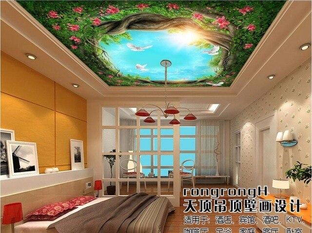 3d Decke Wandbilder Wallpaper Benutzerdefinierte Foto Vlies Raum 3d