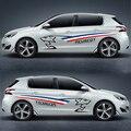 TAIYAO auto styling sport auto aufkleber Für Peugeot 207 BRZ 301 308 S 408 508 2008 3008GT 4008 5008 Kostenloser versand auto styling|Autoaufkleber|   -