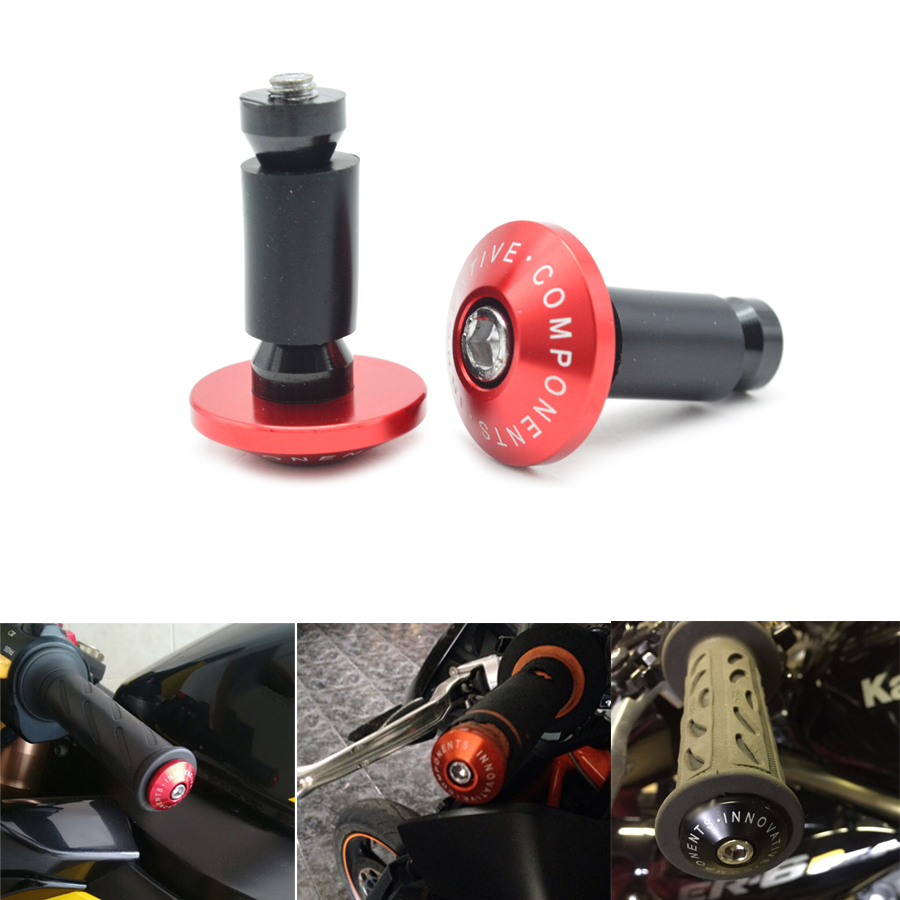 New7/8''22 mm CNC motorcycle handlebar cap motocross handle bar grips ends For KTM TMAX 530 500 R3 Z800 Honda dirt bike kawasak  7 8 22 motorcycle handlebar cap motocross handle bar grips ends for suzuki gsx r ducati honda cbr 250rr cb600f cbf600 vfr800
