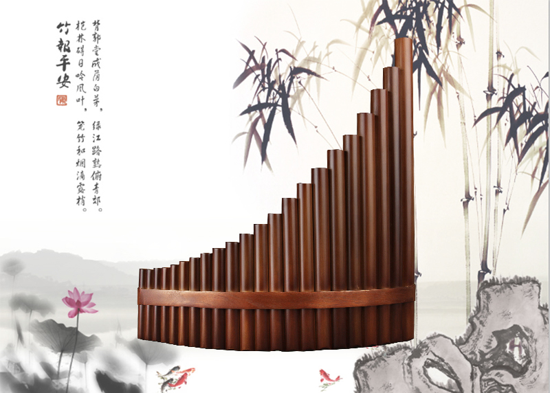 Chinese Vertical Bamboo Flute
