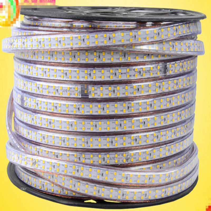 Ultra Super Bright Tape IP65 180led/m Double Row LED Strip Light 2835 AC220V bright 5050/5630/3014/7020 Hotel Building free ship saints row 4 super dangerous wad wad edition