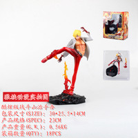 Cool 8 One Piece The Film Z P.O.P POP Sanji Battle Ver. Boxed 21cm PVC Action Figure Colletiion Model Doll Toy B610