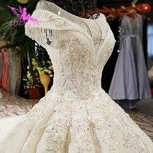 AIJINGYU Áo Váy Áo Choàng Ai Cập Đuôi Dài Bóng Màu Sắc Phổ Biến Hàn Quốc Ý Đồ Bầu Áo Cưới Thắt Lưng