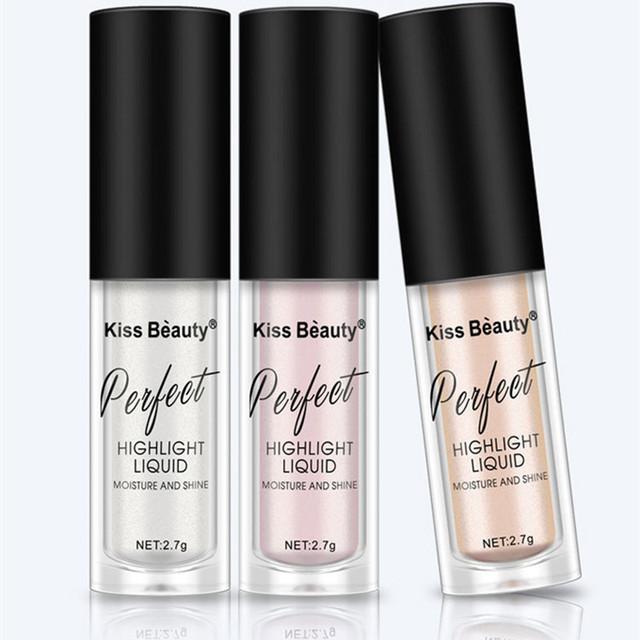 2018 New Illuminator Contouring Makeup Highlighter Face Brightener Concealer Liquid Primer Bronzer Face Glow Kit Cosmetics