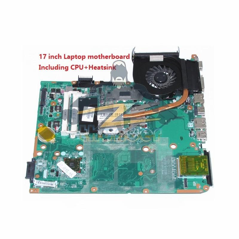 купить 574679-001 DA0UT1MB6E1 for HP Pavilion DV7 DV7-3000 17 inch laptop motherboard DDR3 including cpu heatsink fan по цене 3739.86 рублей
