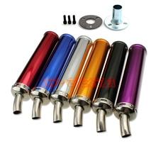 Aluminum alloy Motorcycle modified exhaust pipe For honda NSR150 NSR250 P2 P3 P4 TZR125 TZM150 RGV250 TSR200 two-stroke цены