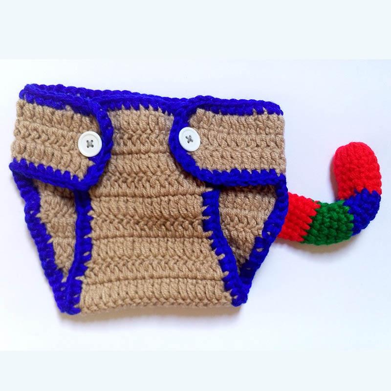 Newborn affe hut outfits foto prop handgemachte gestrickte clothing ...