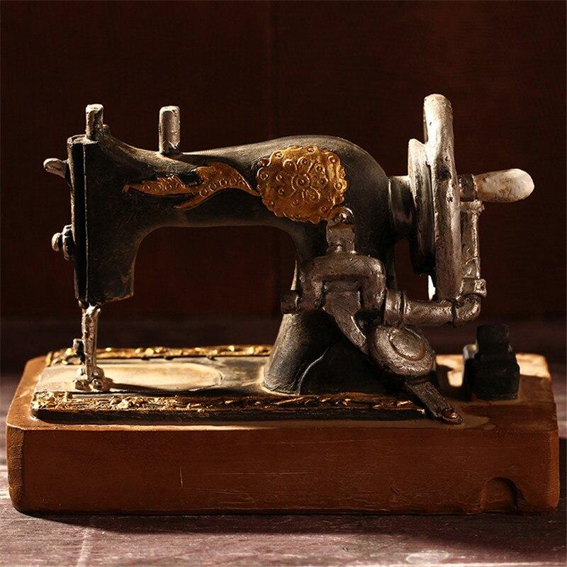 Zakka Unique Gift Bar Vintage Home Decor Sewing Machine