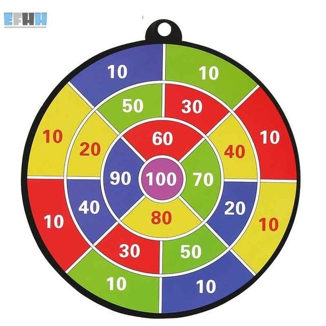 EFHH 1Pcs Toy Gun Paper Target for All Soft Bullet Gun Soft Bullet Scores Dart Board