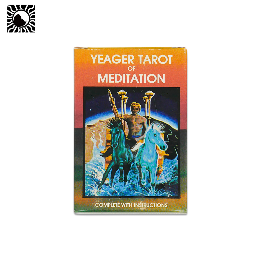 78+2pcs original Yeager Tarot Of Meditation board game tarot cards all in English stages of meditation