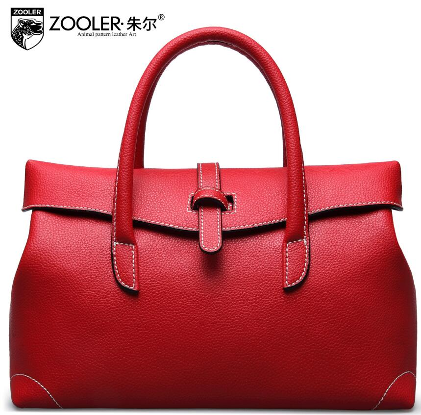 ZOOLER2017 new high-quality fashion luxury brand handbag genuine leather shoulder bag counter genuine, female well-known brands