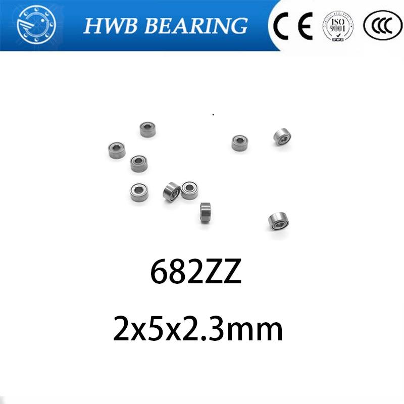 682ZZ 682 682Z глубокий шаровой подшипник 2x5x2,3 мм Миниатюрный подшипник полный комплект