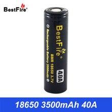 18650 Батарея 3,7 V Vape Батарея 18650 3500 mAh 40A для курения AL85 Vaporesso Eleaf Wismec Тесла Ijoy поле Mod VS ICR18650 VTC6 B014