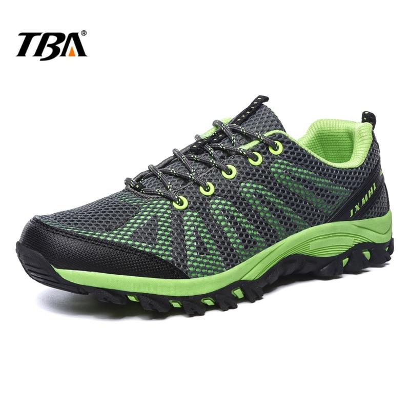 2017 TBA Men&women Hiking Shoes breathable mesh  Mountain shoes Lightweight  Women Summer Shoes Men lace-up Sport Climbing Shoes breathable lace up men outdoor hiking shoes