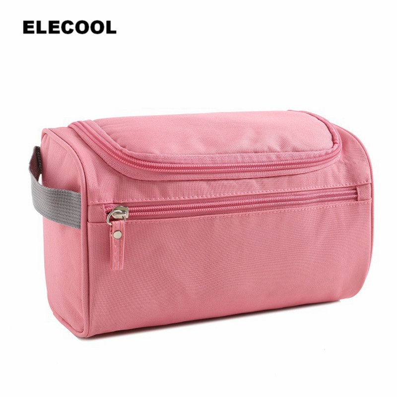 ELECOOL 1PC New Women and men Large Waterproof Cosmetic Bag