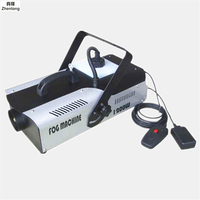 High Quality Wireless Control LED 1500W Smoke Machine RGB Change Color Fog Machine Professional Led Stage