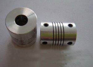 10mmx10mm abrazadera apretada eje del motor 2 L45xD34 Acoplador Acoplamiento de diafragma