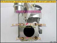 Бесплатная доставка Лучшие CT9 Turbo турбины Турбокомпрессоры для Toyota Starlet ep82 EP91 4efe 2jz gt 2 jzgt 2JZ gte Двигатели для автомобиля с водяным охлаждением