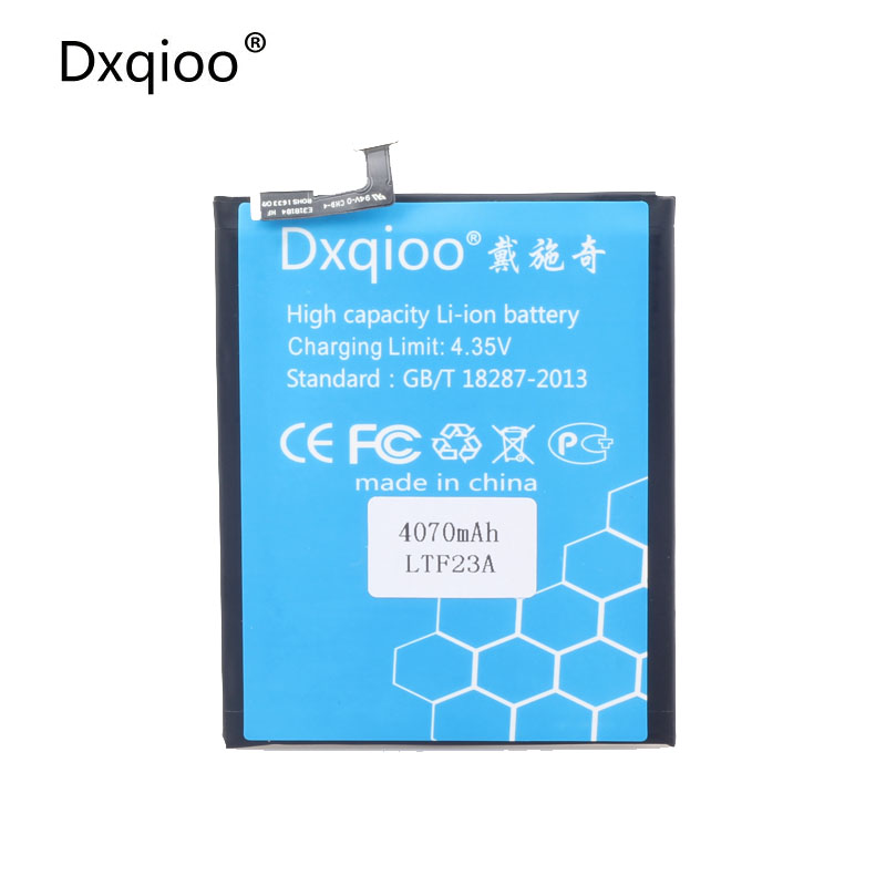 Dxqioo X720 LTF23A batterie fit für LETV pro3 X720 LTF23A 4070 mah batterien
