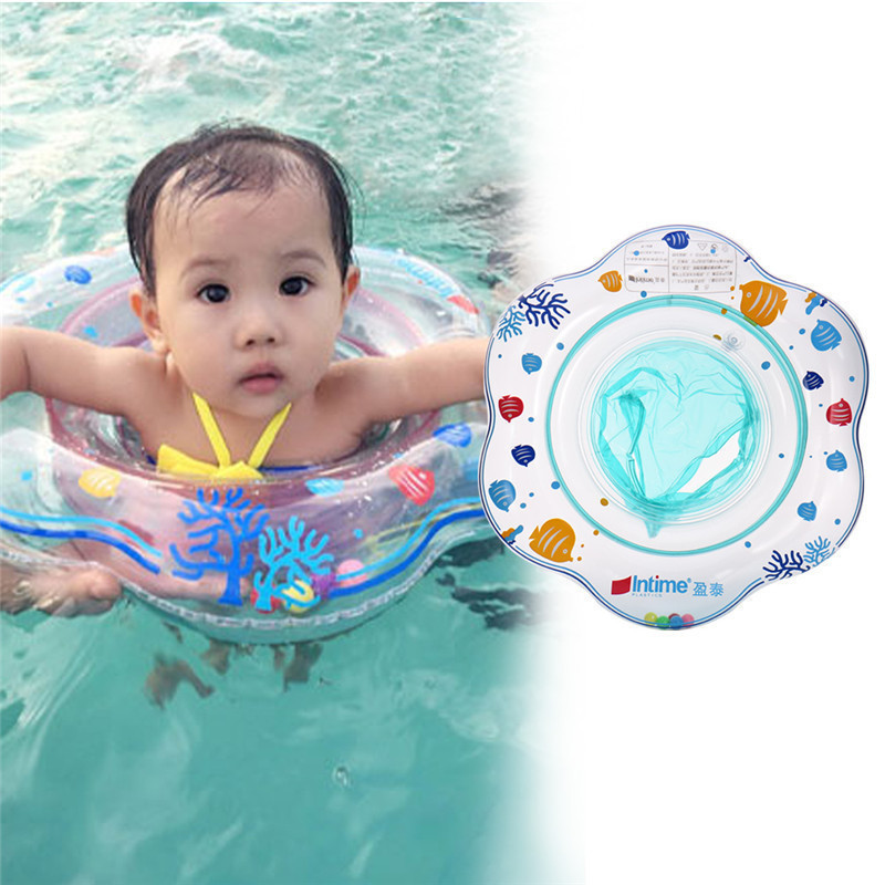 Summer Intime Brand Baby Swimming Ring Double Independent Airbag Structure Inflatable Baby Kids Swimming Pool