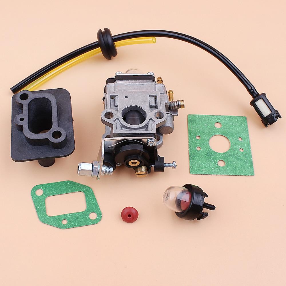 Carburetor Intake Manfold 43cc 40-5 BC430 CG430 TL33 TL43 T52 TU43 Brush Cutters