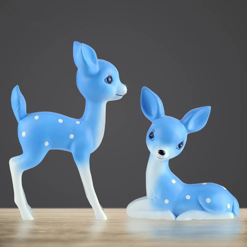 Sika, Personality, Cute, Decorations, Ornaments, Handicrafts