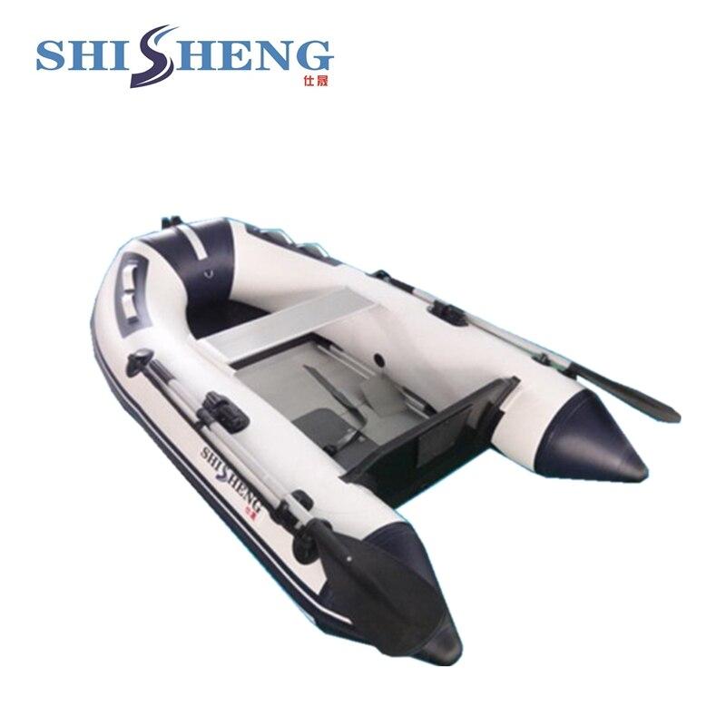 2018 yacht gonflable d'usine de haute qualité à vendre/petit bateau à voile pour la pêche
