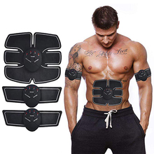 Abdominal Muscle Fitness Trainer Electronic Muscle Exerciser Machine Fitness Belly Leg Arm Exercise Gear Workout Equipment все цены