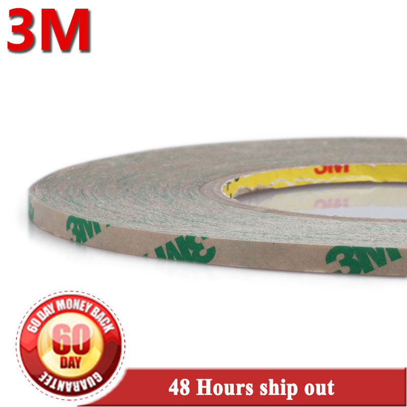 10 Roll 0.06mm Thickness, 4mm*55 meters 3M 467MP 200MP Double Sided Sticky Tape, for LCD /Touch Screen Digitizer Adhesive #1008 50pcs lot oca optical clear adhesive double side sticker for note 8 n950 lcd digitizer thickness 125um