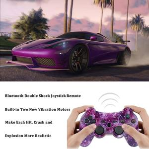 Image 5 - Mando inalámbrico de seis ejes para PS3, Joystick con Cable