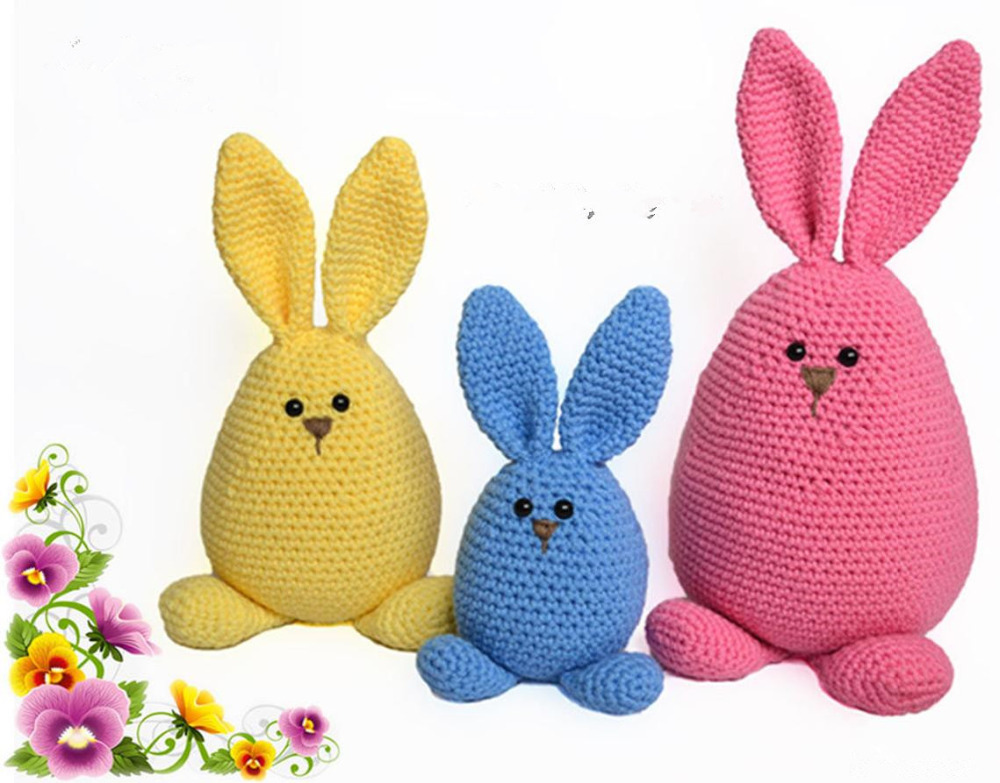 armigurumi doll rattle   bunny family model number  w144armigurumi doll rattle   bunny family model number  w144