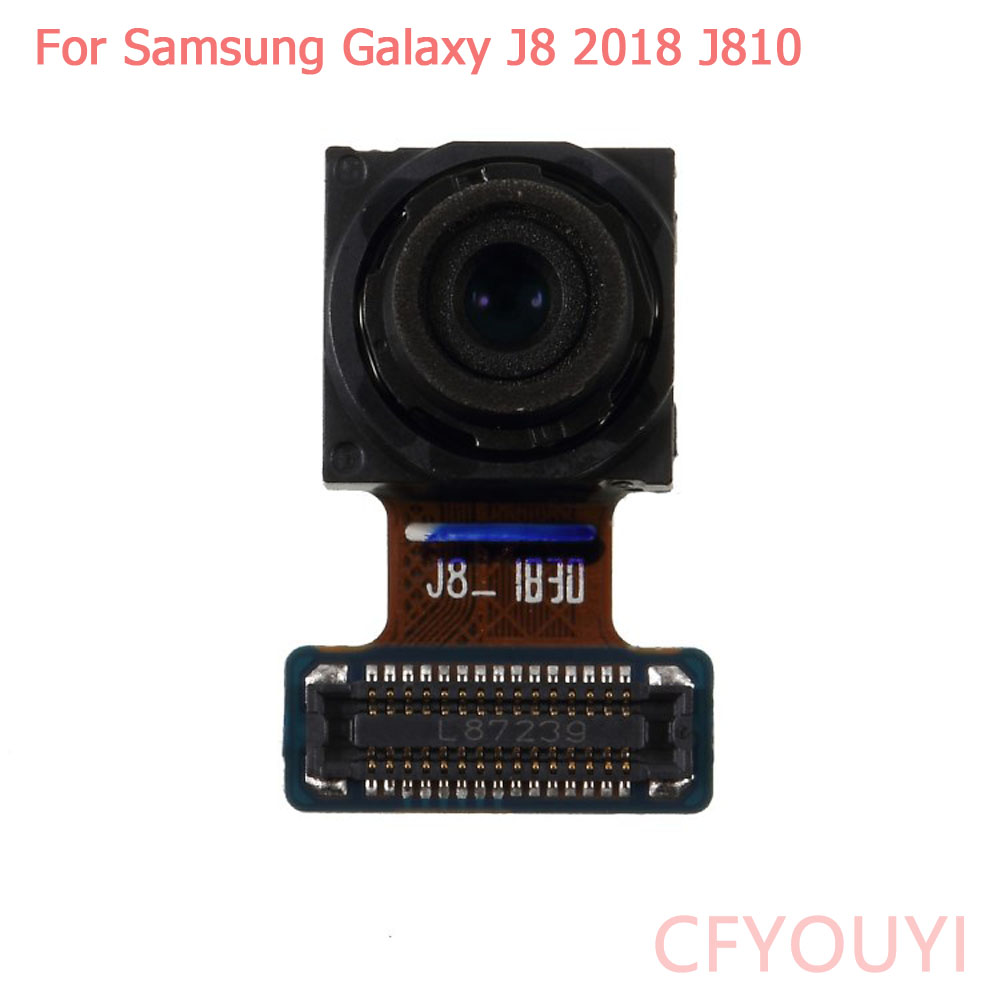 10pcs lot For Samsung Galaxy J8 2018 J810 Front Facing Camera Module Replace Part