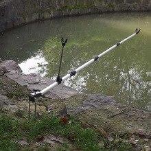 Newly Fishing Pole Holder Rod Stand Bracket Angle Adjustable Telescoping Tool Hand  BF88