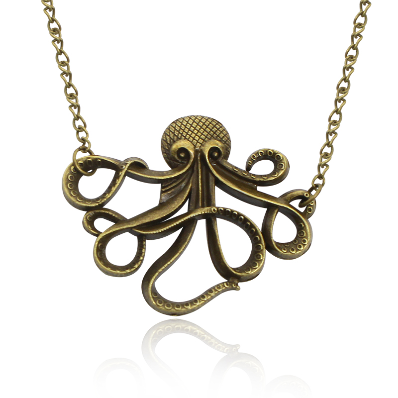 Trendy Pirates Of The Caribbean Jewelry Vintage Octopus ...