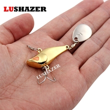 LUSHAZER fishing lure spoon 7.5g 10g 15g 20g metal lure carp fishing lures wobbler  swimbait hard lure fishing tackle China