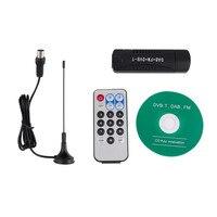 USB Tv Stick DVB T RTL SDR Tuner Receiver Realtek RTL2832U R820T DVB T Satellite Finder