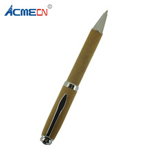 ACMECN Full Fabric Khaki Wrapped Ball Pen Chrome Parts 1.0mm Writing Points 35g Metal Heavy Point Pens for Christmas Gift