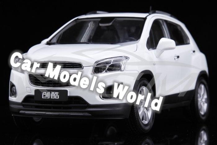 Modelo de coche fundido para Trax 1:18 (blanco) ¡Problemas de pintura + pequeño regalo!-in Troquelado y vehículos de juguete from Juguetes y pasatiempos    1