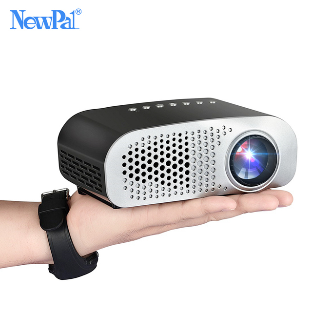 Newpal LED Projector GP802A Home Beamer for Kids 1920*1080P HD Mini Projector Support SD HDMI USB with TV Tuner 1