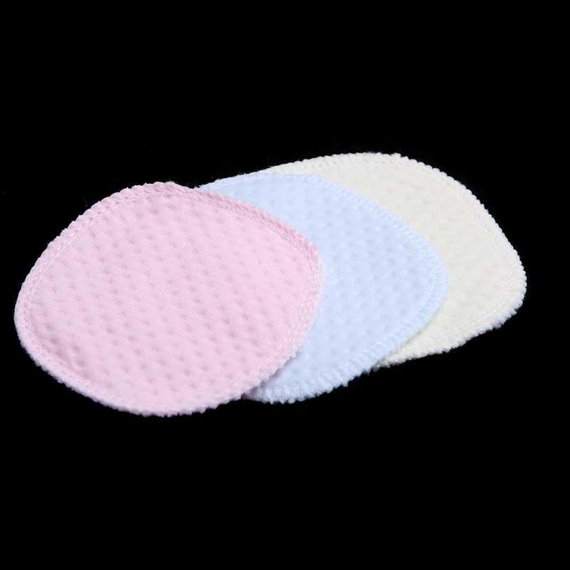 Almohadilla de pecho reutilizable almohadillas de lactancia para pecho lavable suave absorbente bebé lactancia cubierta
