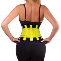 Elástico térmica médica neopreno back support cinturón fitness recorte ciática envío libre amarillo talla l