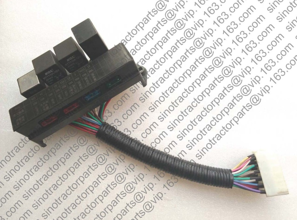 ФОТО FOTON TB404 454 tractor parts , the fuse box assembly, part number:TB400.482A.2