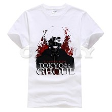 2019 new T-shirt Print  Tokyo Ghoul Leisure Japan Anime Cartoon Fashion Summer dress men tee Pop Boy Funny t shirt Cozy
