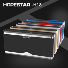 Smart Bluetooth speakers portable design bass stereo HD phone calls TF card FM NFC mobile power supply voice prompt function