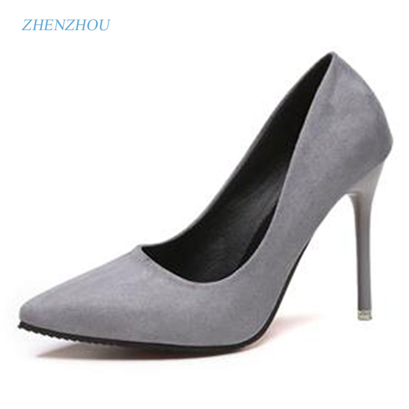 zhenzhou2017spring and autumn women's new fashion trend leadership High heels and spiresSexy shallow mouthexemption from postage dominic mulenga mukuka christian leadership and management