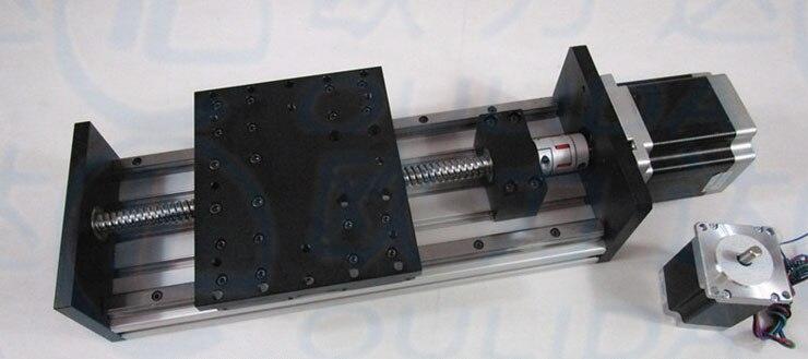 High Precision CNC GX155*150 1610 Ballscrew Sliding 1000mm 12000mm 350mm effective stroke stepper motor XYZ axis Linear motionHigh Precision CNC GX155*150 1610 Ballscrew Sliding 1000mm 12000mm 350mm effective stroke stepper motor XYZ axis Linear motion