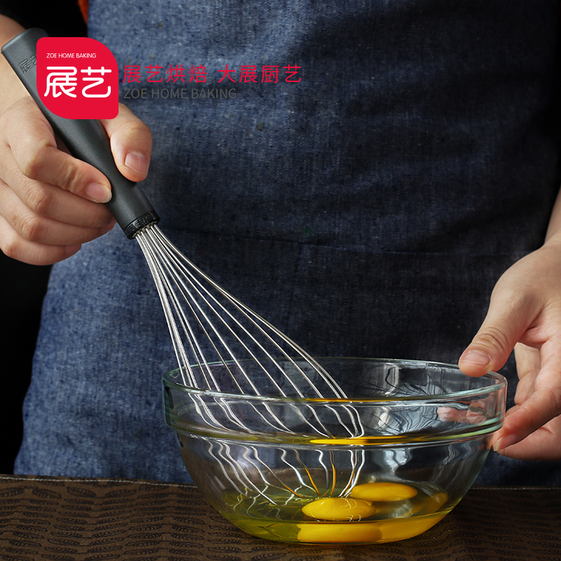 304 Stainless Steel Manual Egg Beater Cream Egg Flour Stirrer Equipment for Kitchen Stirring Tool Kitchen Appliance Hot Sale hot sale kitchen tool dinnerware tablespoon stainless steel rice scoop