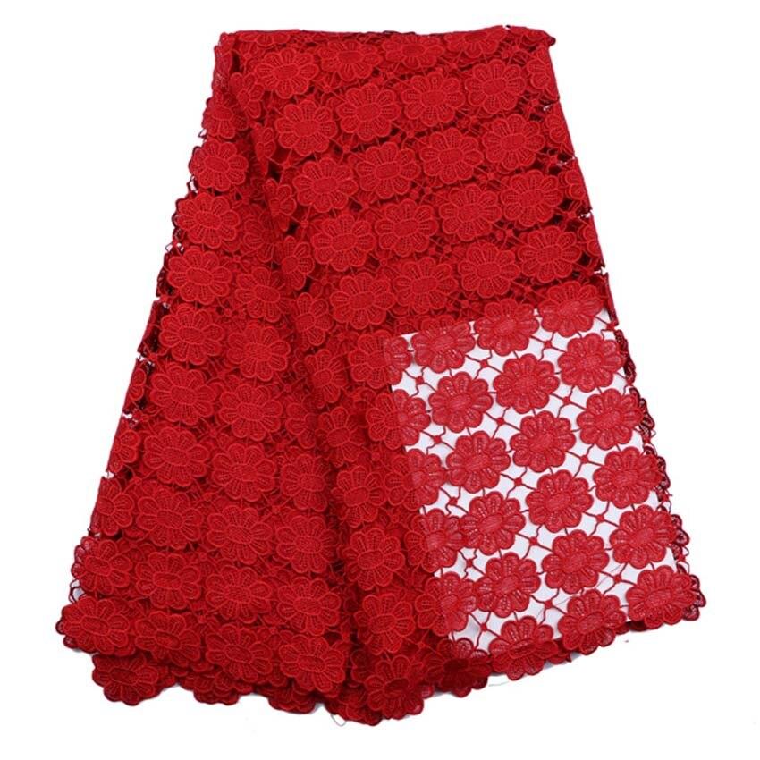 African Lace Fabric жоғары сапалы African Cord Lace 2016 - Өнер, қолөнер және тігін - фото 3
