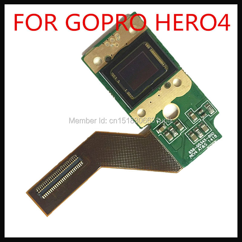100% NEW original for GOPRO HERO4 CCD CMOS image sensor repair parts Hero4 cmos hero 4 ccd Silver Edition free shipping видеокамера other gopro4 hero4 gopro silver black
