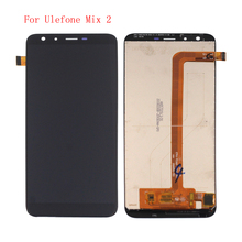 цена на High Quality For Ulefone Mix 2 LCD Display Touch Screen Digitizer Assembly With Free Tools